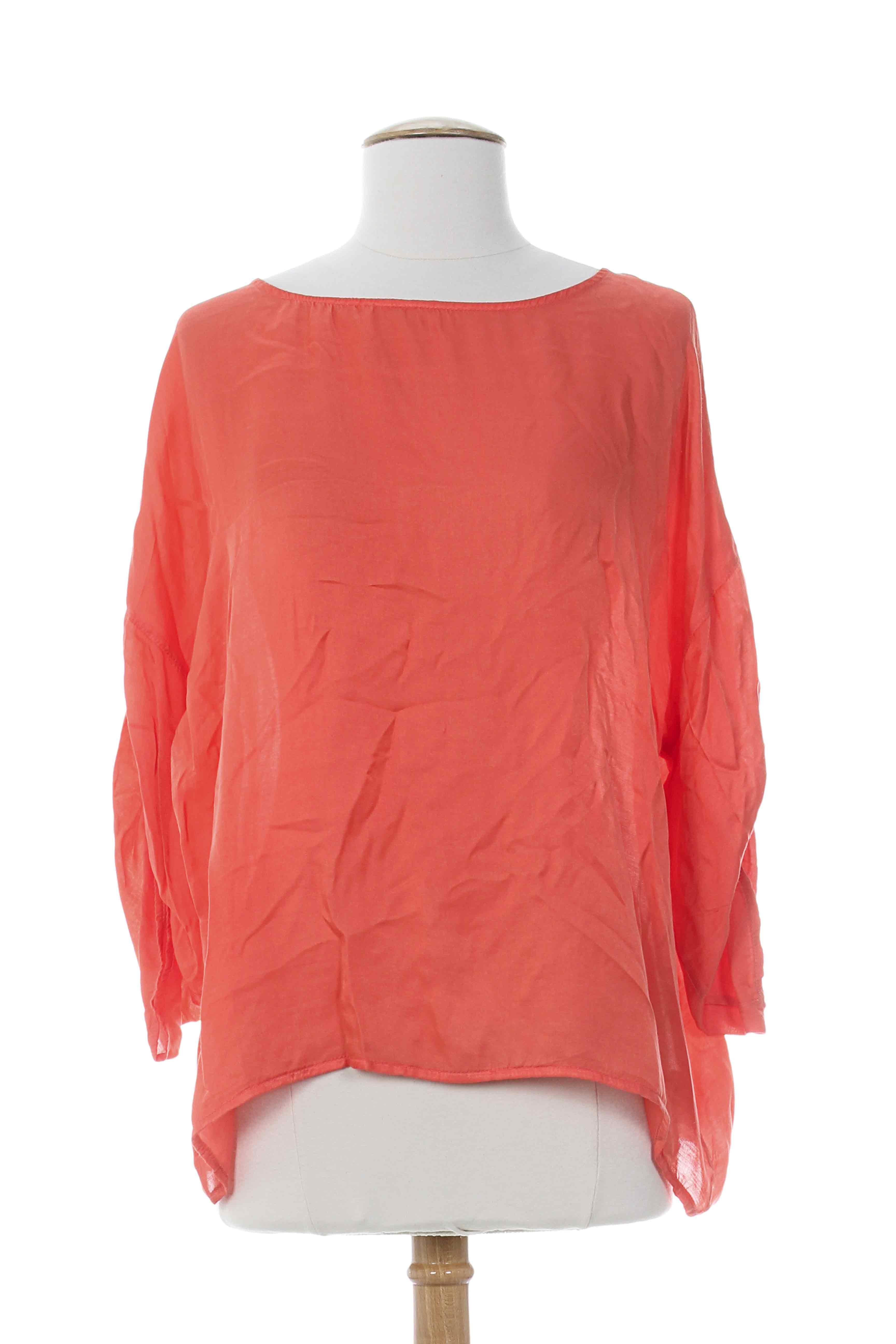 La fee maraboutee blouses femme de couleur orange en soldes pas cher 663396 o - Fee maraboutee soldes ...