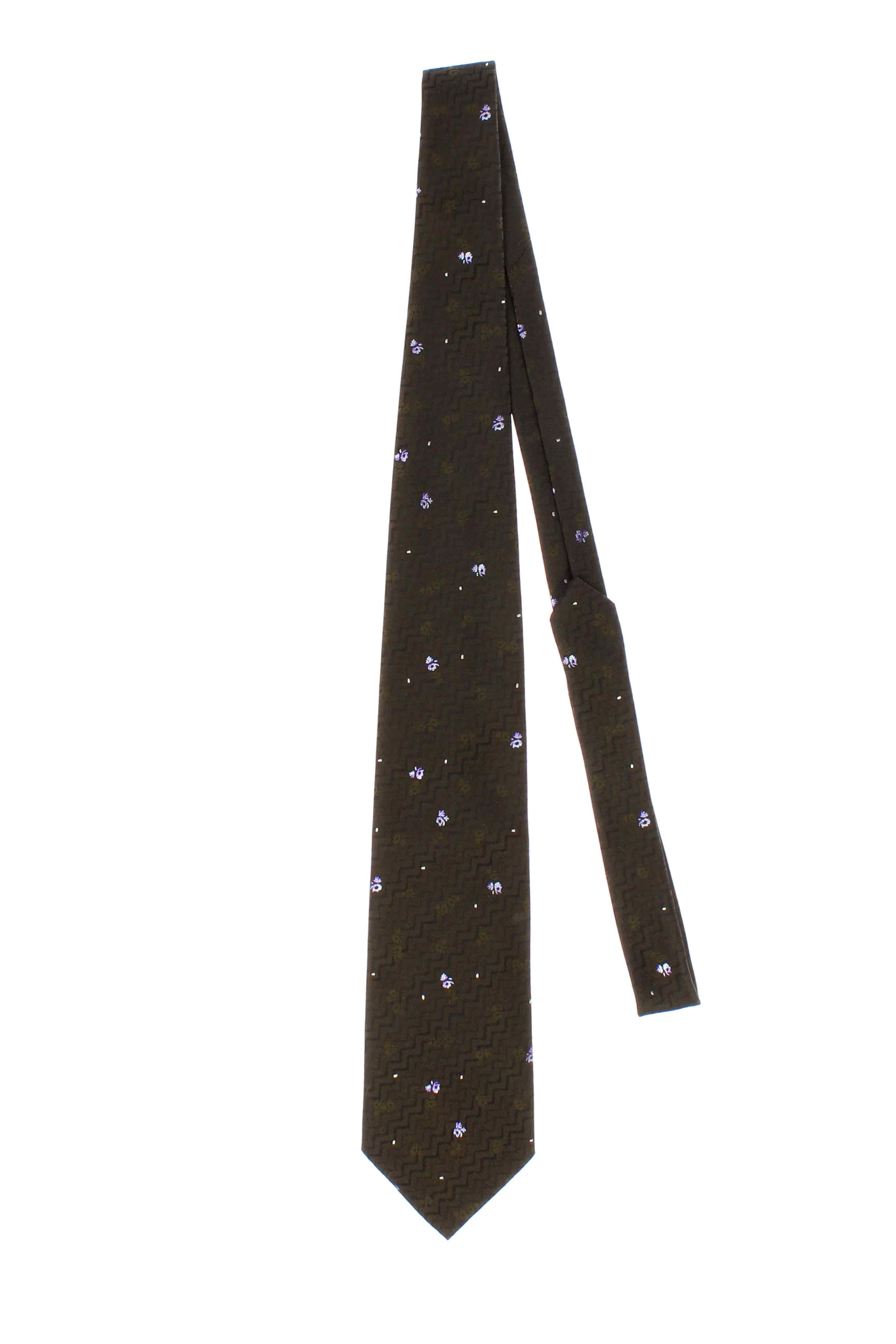 fibre cravate de luxe cravates homme de couleur vert en soldes pas cher 803745 vert00 modz. Black Bedroom Furniture Sets. Home Design Ideas